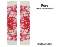 Diamond Pattern Peyote Bracelet Pattern INSTANT by lariata