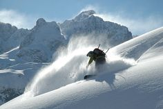 Skiing Goodness. We're ready for winter, are you?
