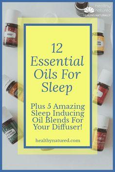 Sleeping Essential Oil Blends, Essential Oils For Sleep, Best Essential Oils, Valerian Essential Oil, Juniper Berry Essential Oil, Oils For Relaxation, Natural Sleep Remedies, Sleep Help, Alternative Therapies