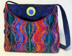 """Stitch & Slash"" ™ - Georgetown Bag Sewing Pattern - by Pat Fitzpatrick"