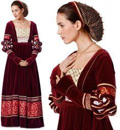 Renaissance Clothing Patterns | Renaissance Costume Pattern [b 7171] - £6.85 : habithat.co.uk, sewing ...