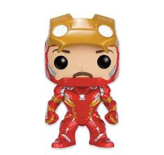 Marvel Pop! Vinyl Figur Iron Man Unmasked Civil War. Hier bei www.closeup.de