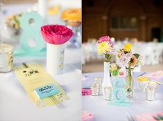 love the bright colors and little bits of flowers