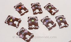 Bread Tag Gingerbread Men, the perfect embellishment to the cookie swap…
