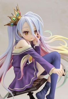 Shiro 1/7 Figure ~ No Game No Life $160.00 (This is a preorder scheduled to be released in October 2014) http://thingsfromjapan.net/shiro-1-7-figure-game-life/ #no game no life figure #anime figure #shiro figure