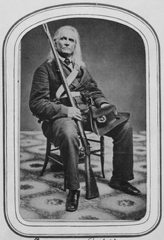Edmund Ruffin (1794 – 1865) was a wealthy plantation owner and slaveholder, and a Confederate soldier. Ruffin fired one of the first shots on Fort Sumter and he was also the first one to enter Fort Sumter after it fell. When the Confederacy surrendered, Ruffin, increasingly despondent over the surrender, committed suicide. He was buried at Marlborne, his plantation in Hanover County, Virginia.
