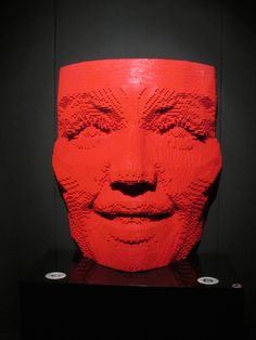 Art work by Nathan Sawaya -- all made from LEGO bricks! Lego Brick, Bricks, Art Work, Artwork, Work Of Art, Brick, Art Pieces