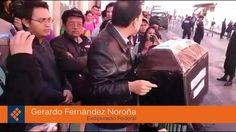 Se manifiestan ante visita de Enrique Peña Nieto a Querétaro