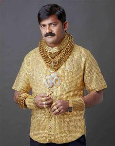 Gold-Shirt ccamisa de oro