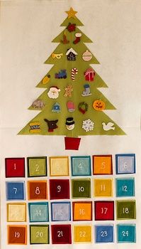 we had a wooden version pf this growing up, also great way to use those extra ornaments