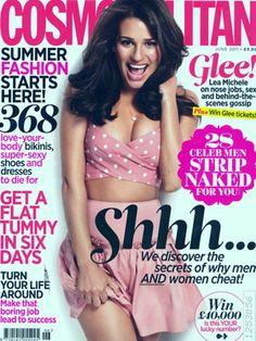 Lea Michele Cosmo