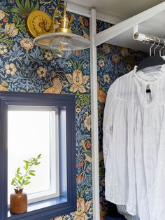 Sara's Closet Reveal - The Bold Design Moment She's Been Craving - Emily Henderson #beforeandafter #homerenovation #mastercloset #DIY Beautiful Closets, Guest Bedroom Decor, Inspire Me Home Decor, Bedroom Paint Colors, Decorating Small Spaces, Home Decor Styles, Home Renovation, My House, In This Moment