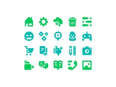 Filled Icons (Freebie) by Pavel Kozlov