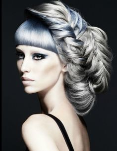 AVANT GARDE | hairstyles  For #hairstyles, advice and ideas visit WWW.UKHAIRDRESSERS.COM