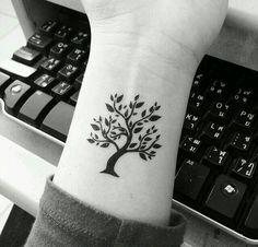 Tatoos árbol