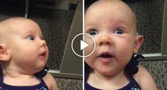 Maravilhoso Momento Em Que Uma Bebé Surda Ouve a Voz Da Mãe Pela Primeira Vez