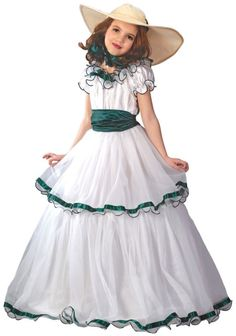 Southern Belle Child Girl's Costume
