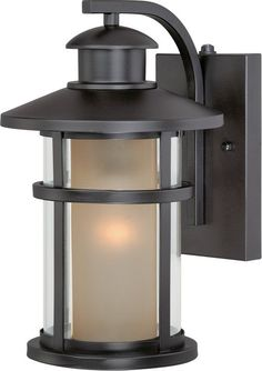 Z Lite 507S Holbrook 1 Light Outdoor Wall Sconce With White Seedy Shade  Black Outdoor Lighting Wall Sconces Outdoor Wall Sconce | Oil Rubbed  Bronze, ...