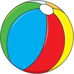 beach ball 3 clip art toys pinterest beach ball and clip art rh pinterest com beach volleyball clipart clipart beach ball free black and white
