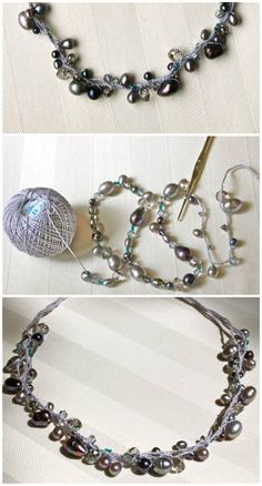Free Beaded Crochet Necklace Pattern - 19 Free Crochet Jewelry Patterns To Change Your Fashion - DIY & Crafts