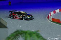 """RC Drift Action in der """"RC Drift Arena"""" in Mönchengladbach (NRW). --- www.feenfluegeltv.de"""