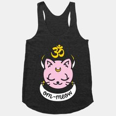 Om-Meow #yoga #cats #meow #om #yoga #fitness #workout #gym #sailormoon