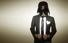 prom vader! Wish my prom date was this cool