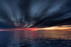 Sunset over Nain Labrador Newfoundland Newfoundland Canada, Newfoundland And Labrador, Military Life, Local Artists, Storms, Artist Painting, Far Away, East Coast, New England