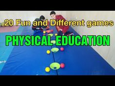 20 Fun physical education games   PE GAMES   physed games - YouTube Physical Education Activities, Elementary Physical Education, Elementary Pe, Pe Activities, Gross Motor Activities, Dementia Activities, Health Education, Activity Games For Kids, Educational Games For Kids