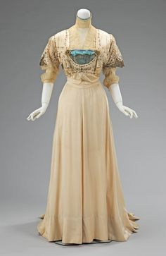 1908 ball gowns | 1908 Evening Gown, Metro. Museum of Art