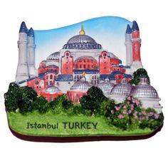 Resin Fridge Magnet: Turkey. Istambul. Hagia Sophia