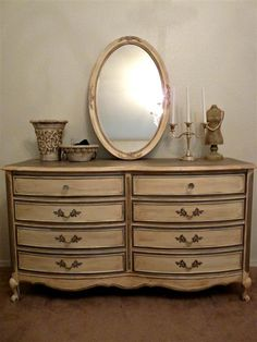 A Bit O' Whimsy: Romantic French Dresser