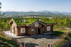 GOLSFJELLET/NYSTØLFJELLET - Nyoppført hytte med fantastisk beliggenhet.Gr.flate på ca. 160 kvm