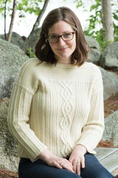 Brianna Pullover Knitting Pattern and more sweater knitting patterns