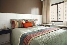 5 quartos de casal que você vai amar   <i>Crédito: Fotos: Luiz Gomes/ Edu Castello/ Gabriel Arantes