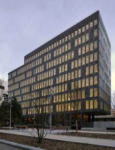 OAB Ferrater > Edificio de Oficinas en Boulogne-Billancourt, París