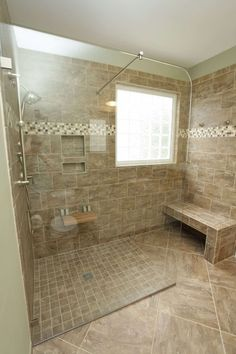 Bathroom Shower Stalls With Seats