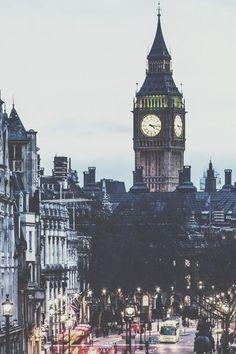 London town, lovely Big Ben