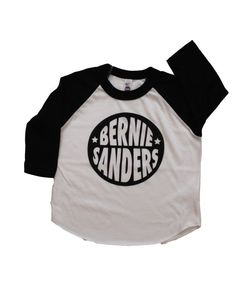 Bernie Sanders Baby Kid Toddler Graphic Baseball by MochiKids