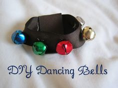How fun would it be to make these dancing bells?  Little kids love to make their own music!