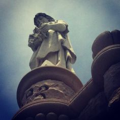 Learned Tomb angel watches over us #natchez #cemetery #memorialday