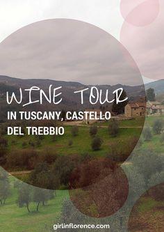 Day trip ideas for Tuscany -- Castello del Trebbio, Girl in Florence Blog
