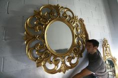 Awesome Luxury Wall Mirrors | 10 Jaw-Droppingly Sumptuous Wall Mirrors for Your Decorating Projects ➤ Discover the season's newest designs and inspirations. Visit us at www.wallmirrors.eu #wallmirrors #wallmirrorideas #uniquemirrors @WallMirrorsBlog