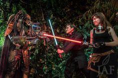 PotD: Luke Skywalker and Mara Jade versus The #Predator- #ComicCon 2013 — Tea Leaf On The Wind Photography - Jeremy Asher Fried #StarWars #SDCC #Cosplay