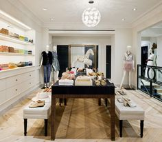 new york boutique.  If we can combine this sleek boutique look with our style, I think we will have it!