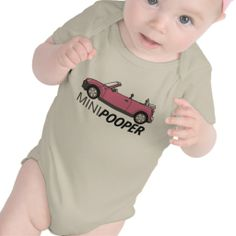 Cute and Funny Baby Bodysuit