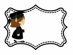 Graduation Poems, Graduation Images, Graduation Crafts, Kindergarten Graduation, Graduation Invitations, Art Graf, Graduation Wallpaper, Paper Flower Garlands, Page Borders Design