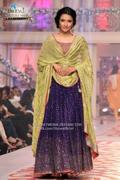 Bin roye dress by feeha jamshed