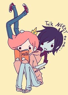 Cute! Adventure Time Marshall Lee Prince Gumball Gumlee