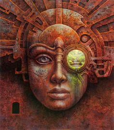 The Prophecy by Tomasz Alen Kopera, oil on canvas